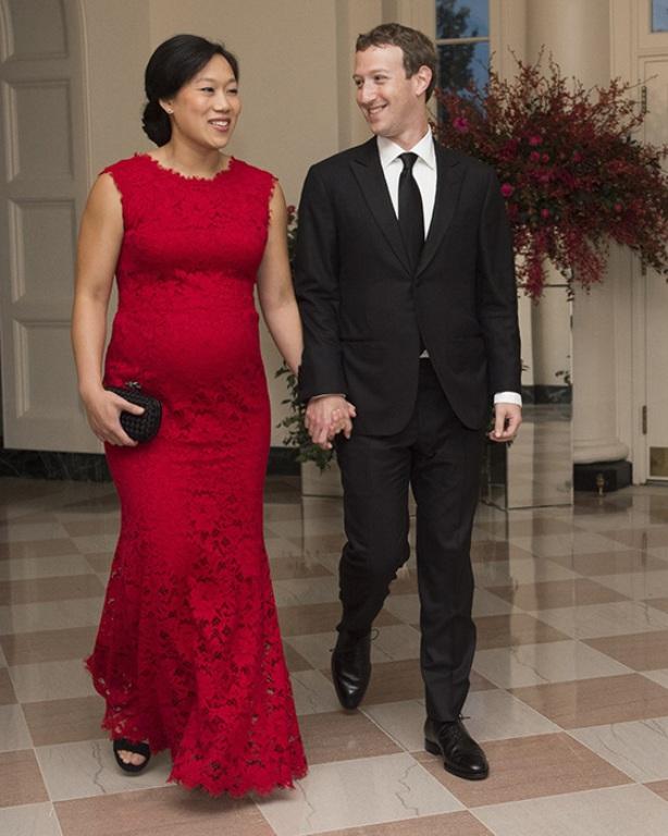 mark zuckerberg si sotia lui