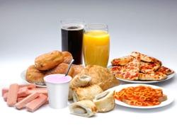 mâncare procesată