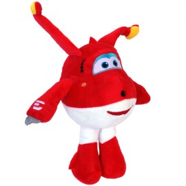Figurina de plus avion Jett Super Wings 25 cm