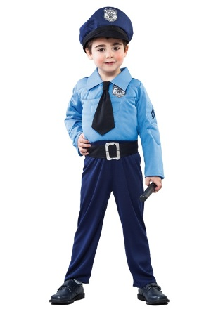 Costum Police Boy