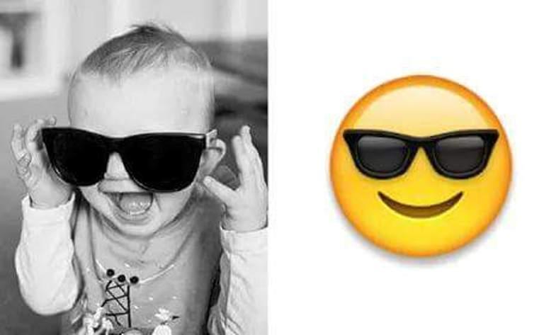 bebelus cu ochelari