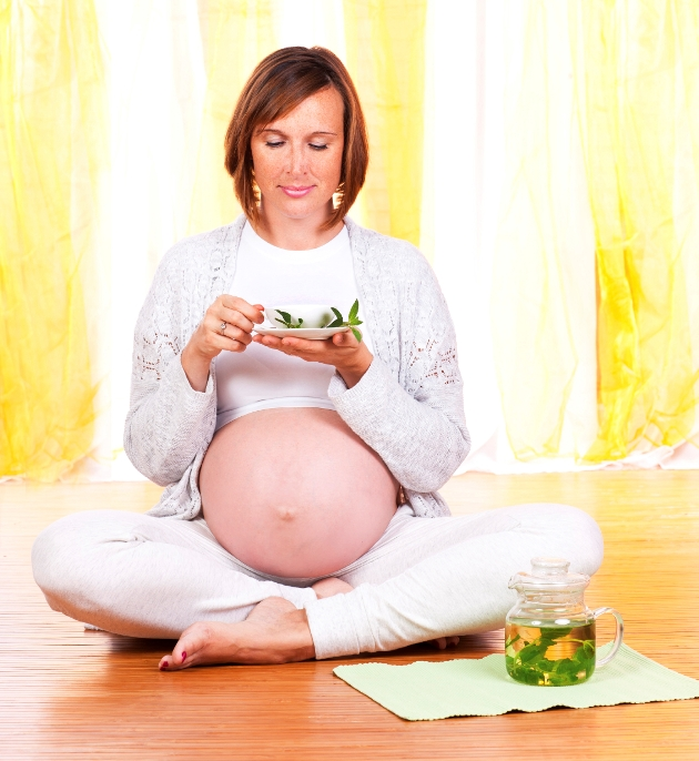 ceai de menta in sarcina 3