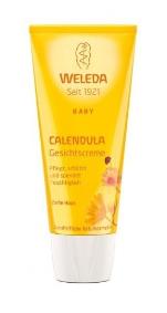 Crema faciala hidratanta cu galbenele WELEDA