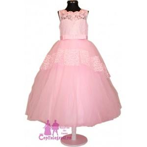 Rochie lunga Pink PRINCESS