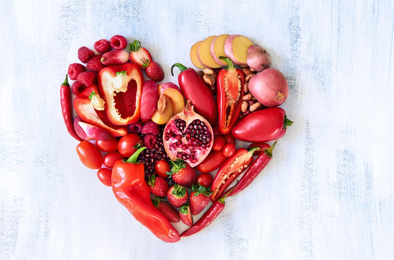 fructe si legume rosii