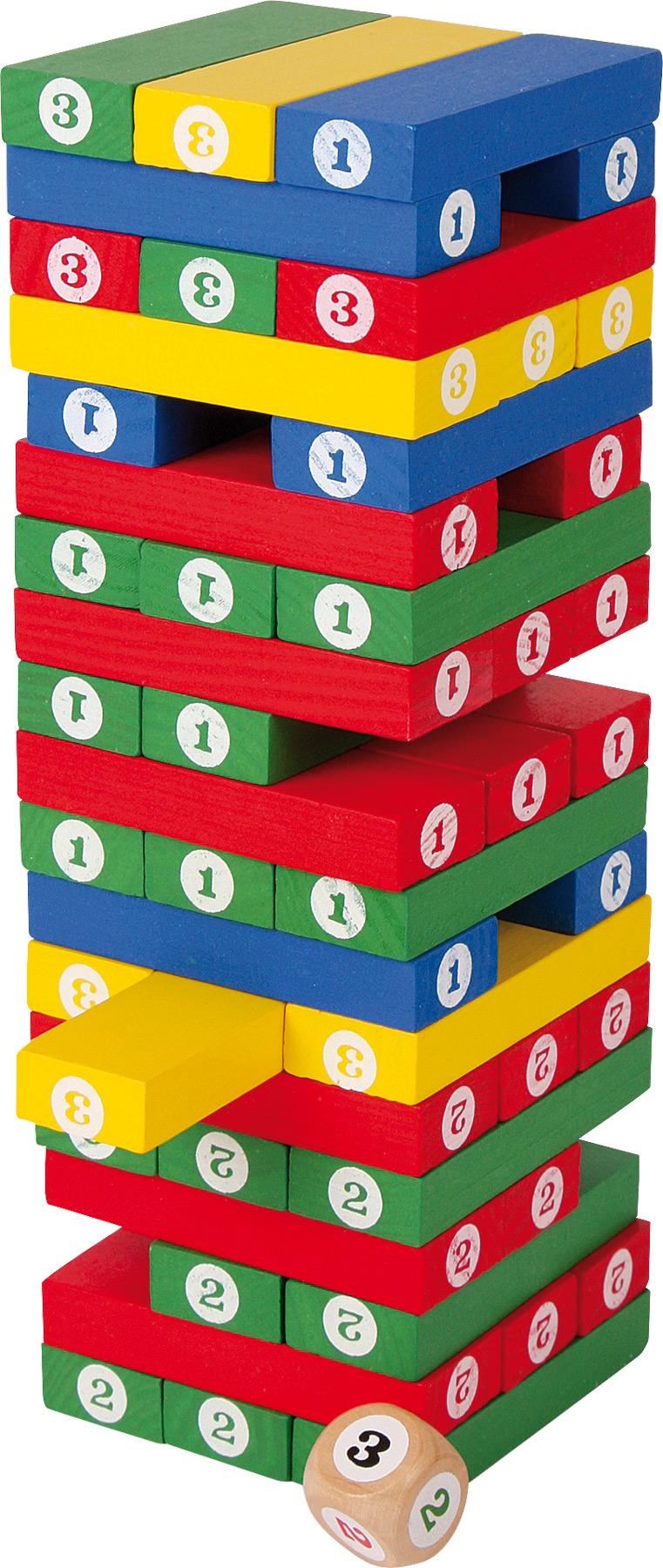 Turnul Cifrelor - O jucarie educativa - Joc de Societate pentru copii