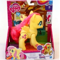 Figurina Articulata Fluttershy My Little Pony:Equestria Girls