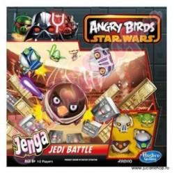 Setul de lupta Jenga Jedi Angry Birds Star Wars