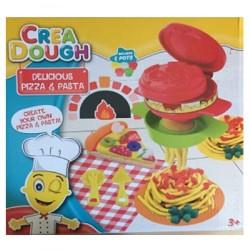 Set creatie plastilina - Pizza Set
