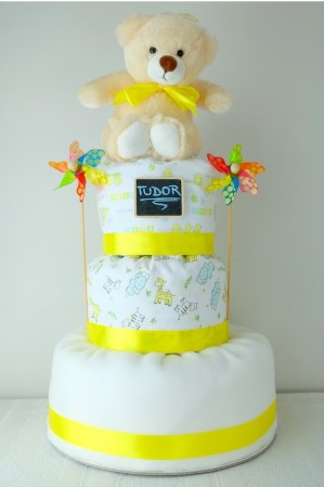 Tort de pampers Sunshine