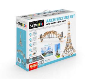 STEM SET DE ARHITECTURĂ: Turnul Eiffel Tower şi Podul Sydney