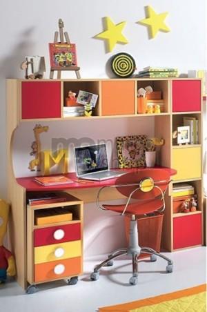 Birou copii cu etajera Glance - marcoshop.ro