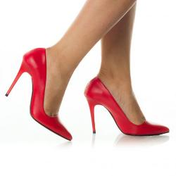 Pantofi Dama Eshe Rosii