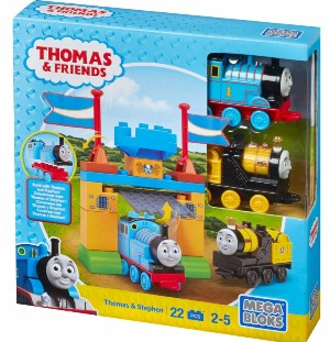 Set Thomas si sir Topham Hat Poarta castelului Thomas&Friends Mega Bloks