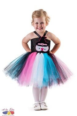Rochita tutu Halloween Booha