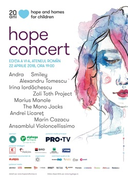 concert hope and homes
