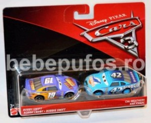 Set Bobby Swift/Cal Weathers Cars 3 Disney Mattel