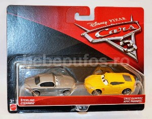 Set Cruz Ramirez/Sterling Cars 3 Disney Mattel
