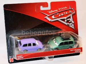 Set Minny/Van Cars 3 Disney Mattel