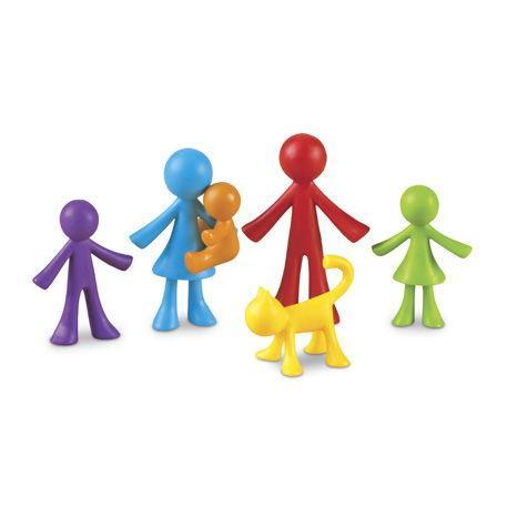 Set omuleti - Familia mea - set educativ