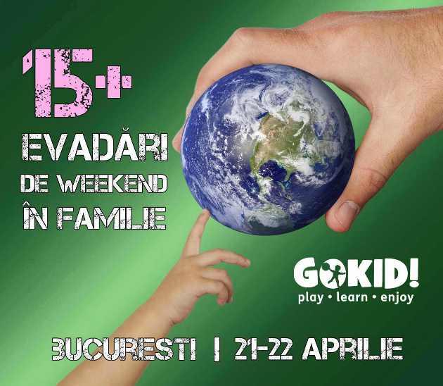 ExpriMagia Emoțiilor şi alte evenimente de weekend pentru copii şi părinţi în Bucureşti