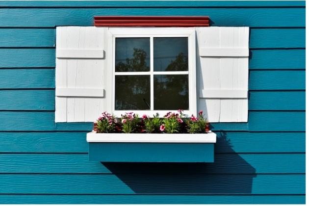 ferestre vopsite