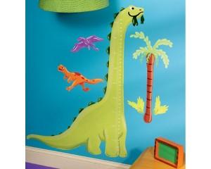 Dinozaurul simpatic - Sticker Centimetru