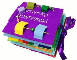 Carte senzoriala cu activitati Montessori