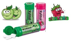 xylitol guma pentru copii