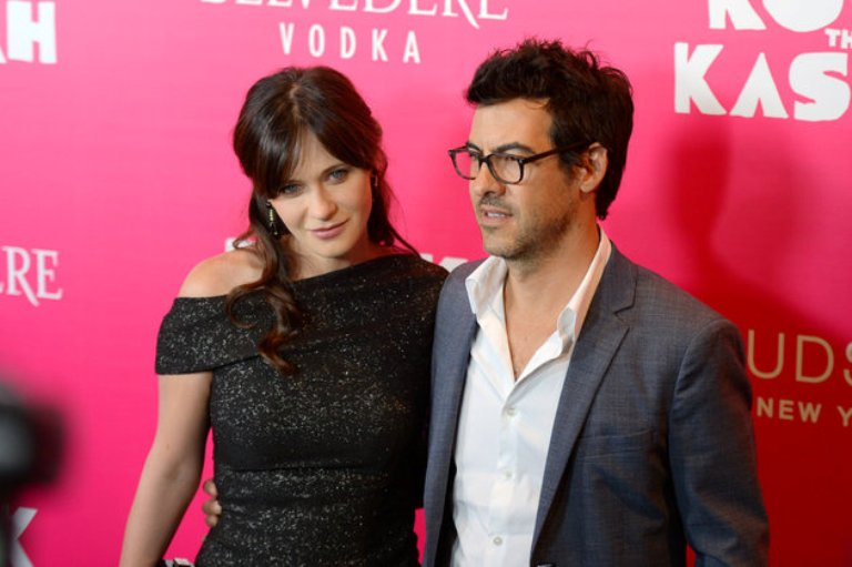 Zooey Deschanel si Jacob Pechenick
