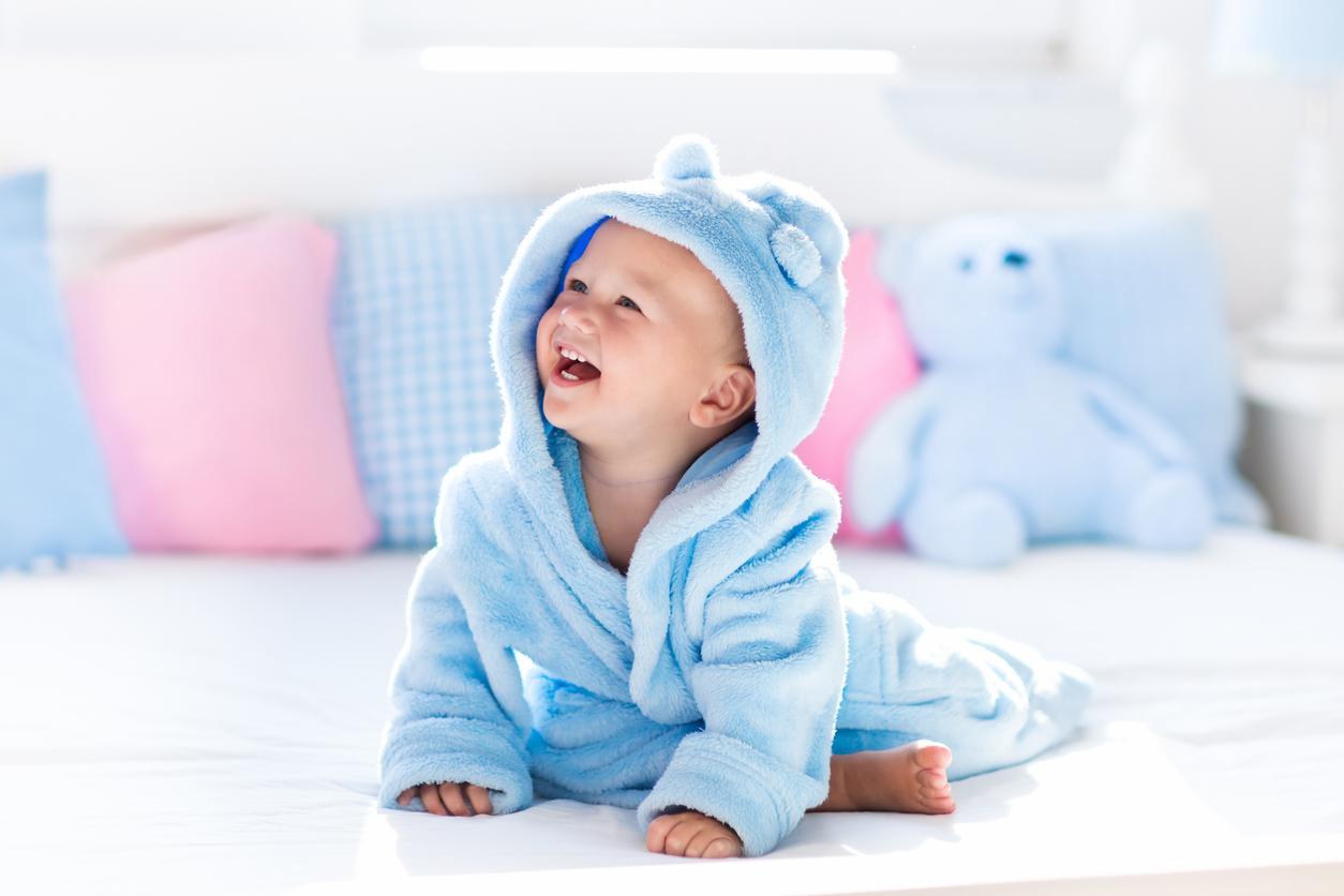 pielea bebelusului