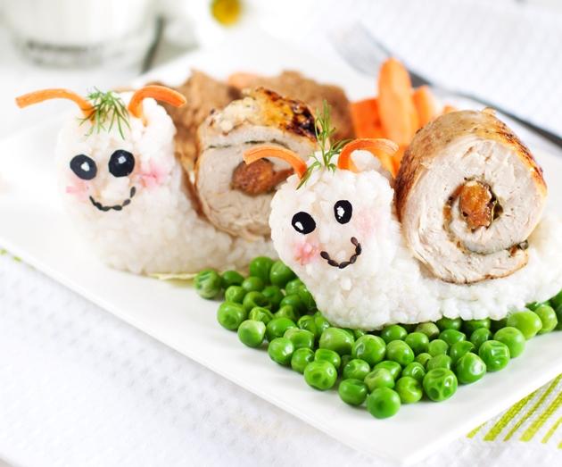 rulada de carne pentru copii
