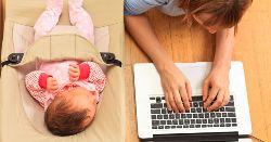 cu bebelusii la birou