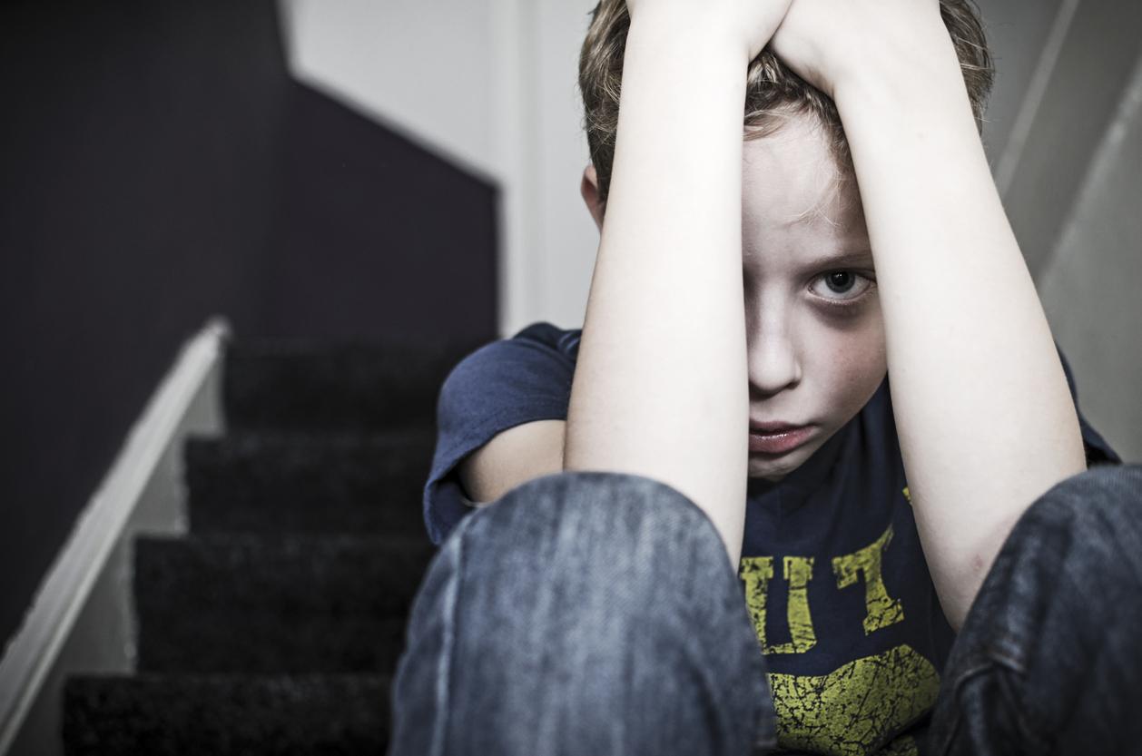 copil maltratat