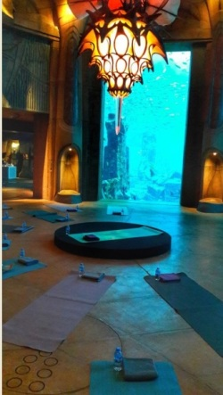 yoga subacvatica
