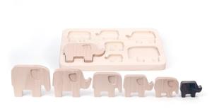 Puzzle elefanti