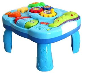 Masuta multifunctionala 2 in 1 Activitati Bebe Sealife