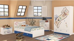 Camera copii Insula Piratilor - marcoshop.ro
