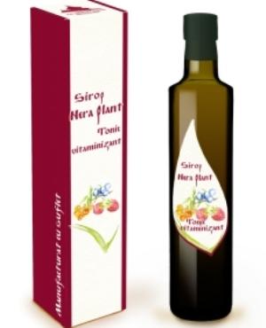 Sirop Nera Plant Tonic vitaminizant