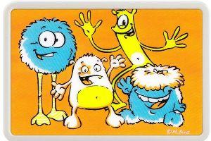 """Lampa de veghe cu leduri colorate KidsLight Creative """"Monstrii"""""""