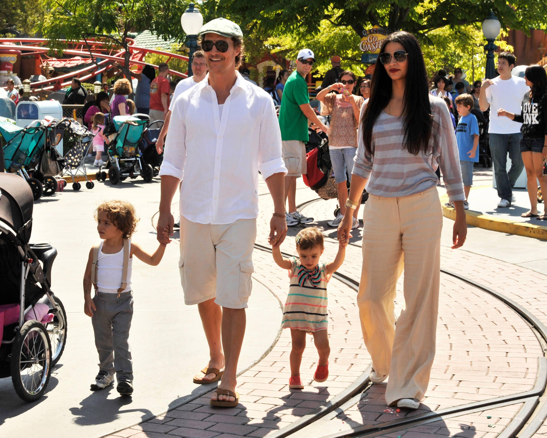 Matthew McConaughey și Camila Alves