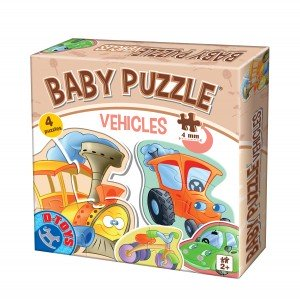 Baby Puzzle - Vehicles