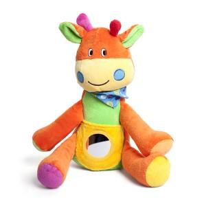 Jucărie Plus pentru Bebeluși - Girafa Ziggy
