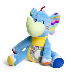 Jucărie Plus pentru Bebeluși - Elefănțelul Jumbo