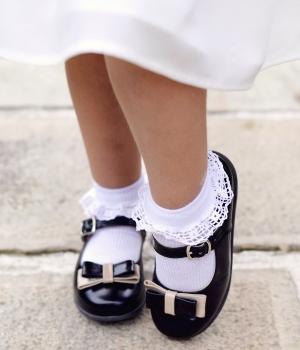 Pantofi copii mici 51c lac