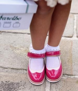 Pantofi copii mici 56c lac