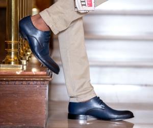 Pantofi eleganti barbati 878 a indigo