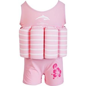 Costum Inot cu Sistem de Flotabilitate Ajustabil Pink Stripe