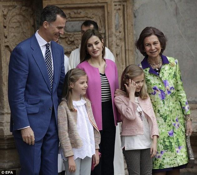 familia regala din spania