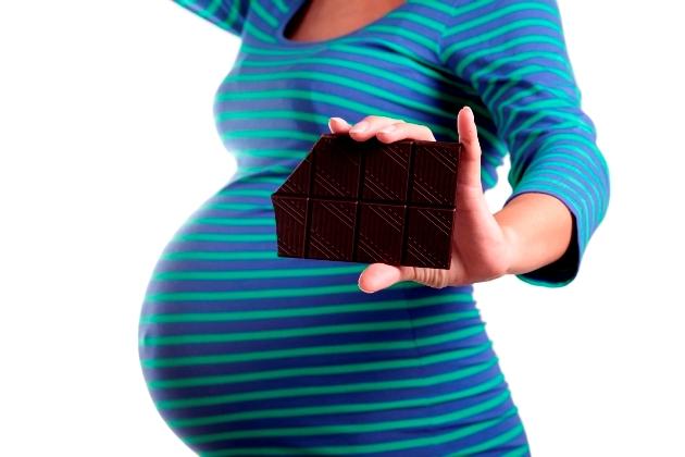 ciocolata in sarcina